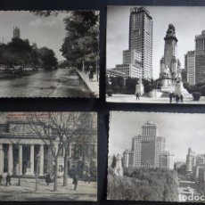 Postales: 4 ANTIGUAS POSTALES DE MADRID , VER LAS FOTOS DEL REVERSO. Lote 234513070