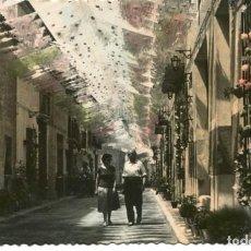 Postales: NOVELDA-CALLE DAOIZ Y VELARDE EN FIESTAS DE LA MAGDALENA. Lote 234921615