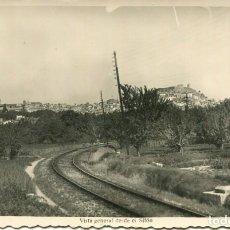 Postales: SEGORBE-FERROCARRIL Y VISTA GENERAL DESDE EL SIFÓN-FOTOGRÁFICA SUAY. Lote 234924520