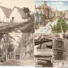 Postales: VALENCIA LOTE DE CUATRO POSTALES ...... VER DATOS. Lote 235322625