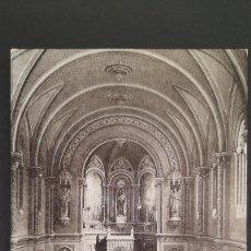Cartoline: LOTE 160121 POSTAL VALENCIA COLEGIO SAN JOSE DE LA COMPAÑÍA DE JESUS. INTERIOR DE LA IGLESIA. Lote 235345710