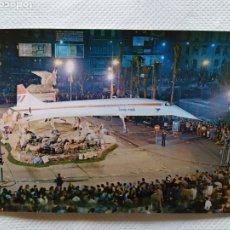 Postales: VALENCIA. FALLA EN LA PLAZA DEL PAÍS VALENCIÁ. Lote 235920590