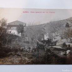 Postales: BUÑOL. VALENCIA. VISTA GENERAL DEL RIO JUANES.. Lote 236177890