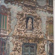 Postales: VALENCIA PALACIO DEL MARQUES DE DOS AGUAS POSTAL NO CIRCULADA. Lote 236226455