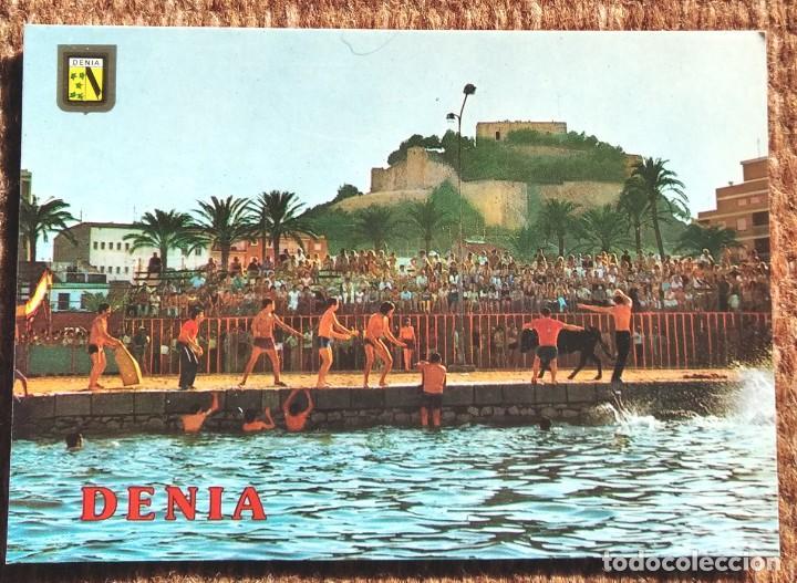 DENIA - ALICANTE - BOUS EN LA MAR (Postales - España - Comunidad Valenciana Moderna (desde 1940))