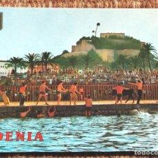 Postais: DENIA - ALICANTE - BOUS EN LA MAR. Lote 236513265