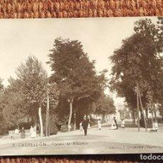 Postales: CASTELLON - PASEO DE RIBALTA - EDICION F. SEGARRA. Lote 236521590