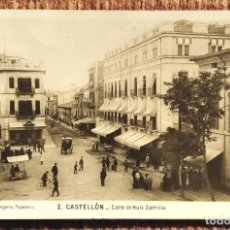 Postales: CASTELLON - CALLE DE RUIZ ZORILLA - F. SEGARRA. Lote 236533285