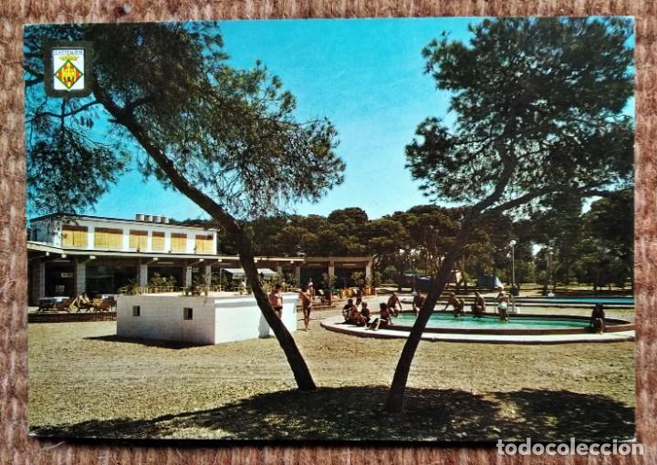 CASTELLON - CAMPING AZAHAR (Postales - España - Comunidad Valenciana Moderna (desde 1940))