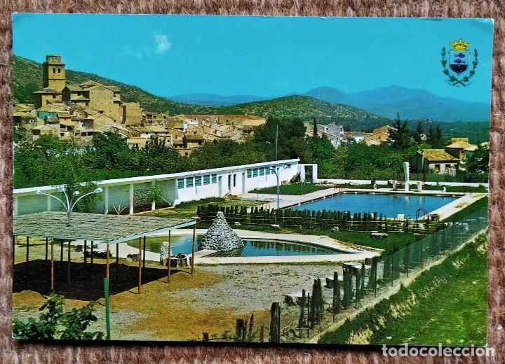 VIVER - CASTELLON - PISCINAS MUNICIPALES (Postales - España - Comunidad Valenciana Moderna (desde 1940))