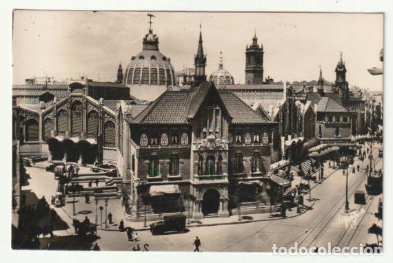 POSTAL MERCADO CENTRAL VALENCIA - -R-11 (Postales - España - Comunidad Valenciana Antigua (hasta 1939))