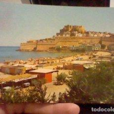Postales: PEÑISCOLA PLAYA MATASELLO CASTELLON AÑOS 60 CIRCVLADA Nº 2 ARASA. Lote 237383900
