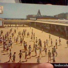 Postales: SALOU TARRAGONA SANTA MARIA PINEDA ED DOMINGUEZ HERMANDADES TRABAJO CIRCVLADO COLONIAS INFANTILES. Lote 237386800