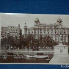 """Postales: TARJETA POSTAL ALICANTE EDICIONES """"UNIQUE"""" B/N Nº 1303 EXPLANADA DE ESPAÑA. Lote 237560315"""