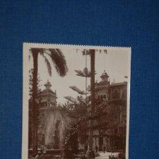 """Postales: TARJETA POSTAL ALICANTE EDICIONES """"UNIQUE"""" B/N Nº 1319 PLAZA DE ISABEL II. Lote 237562600"""