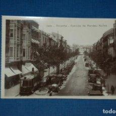 "Postales: TARJETA POSTAL ALICANTE EDICIONES ""UNIQUE"" B/N Nº 1309 AVENIDA DE MÉNDEZ NUÑEZ. Lote 237572745"