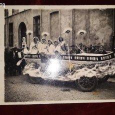 Postales: POSTAL CARROZA PRINCIPIOS DE SIGLO MORELLA,CASTELLON. Lote 237979815