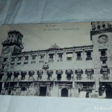 Postales: ANTIGUA POSTAL ALICANTE AYUNTAMIENTO Nº 56 AÑO 1924. Lote 238347710