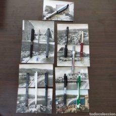 Postales: LOTE 9 POSTALES PEÑÍSCOLA AÑOS 50-60. Lote 239369365