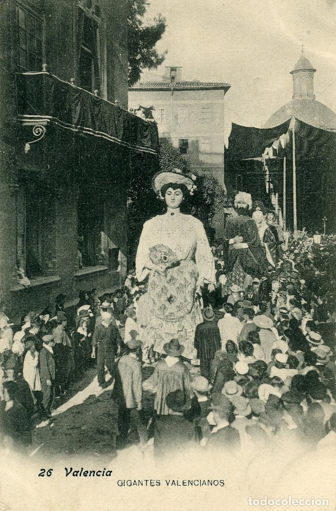 VALENCIA - GIGANTES VALENCIANOS (Postales - España - Comunidad Valenciana Antigua (hasta 1939))