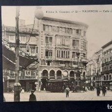 Postales: LOTE 040221.-POSTAL VALENCIA CALLE SAN VICENTE ED. CRUMIERE. Lote 239883615