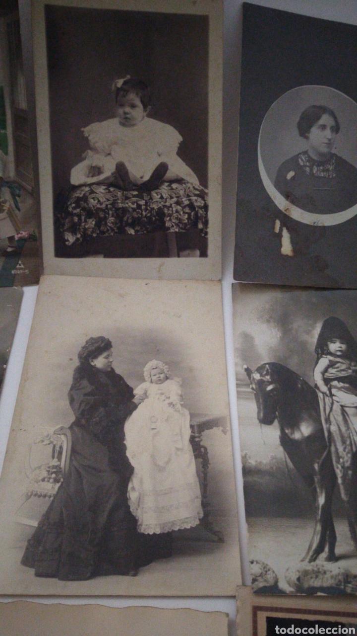 Postales: 9 tarjetas postales antiguas la mayoría de niños y niñas. - Foto 3 - 240969745