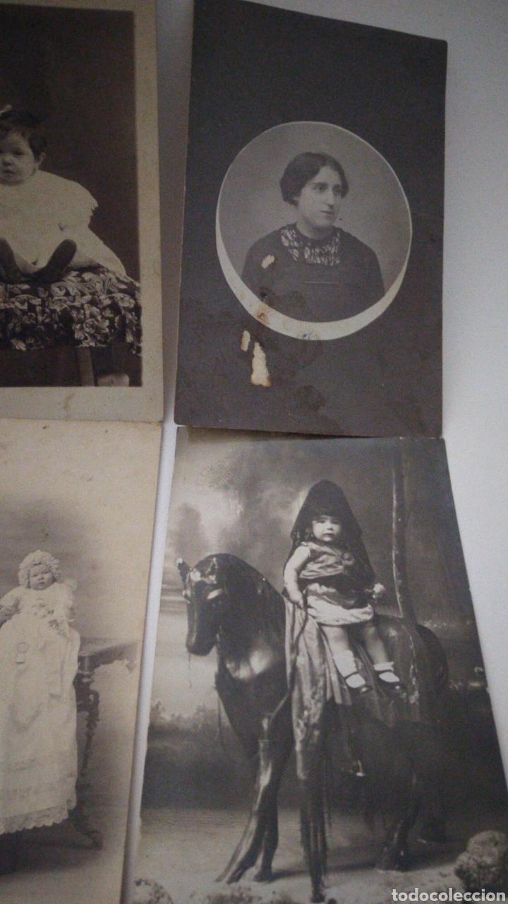 Postales: 9 tarjetas postales antiguas la mayoría de niños y niñas. - Foto 4 - 240969745
