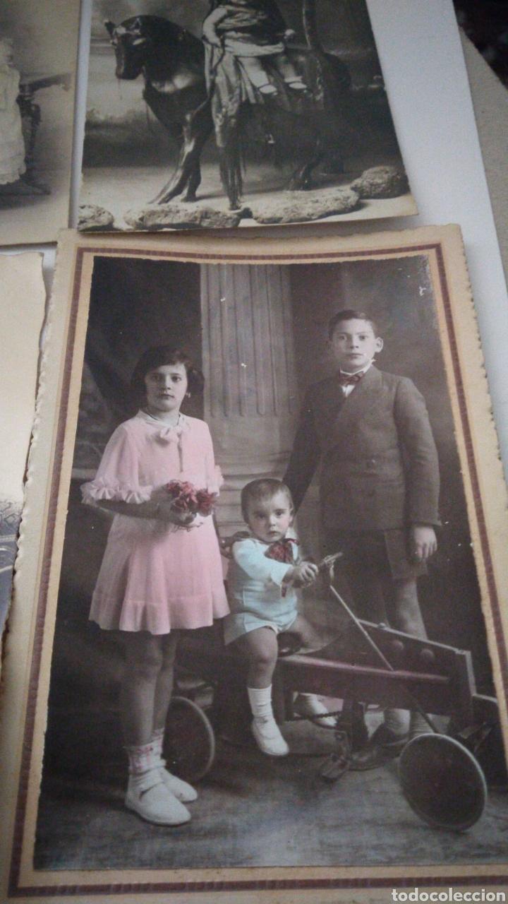 Postales: 9 tarjetas postales antiguas la mayoría de niños y niñas. - Foto 5 - 240969745