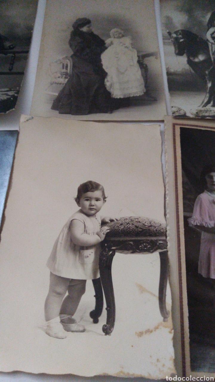Postales: 9 tarjetas postales antiguas la mayoría de niños y niñas. - Foto 6 - 240969745