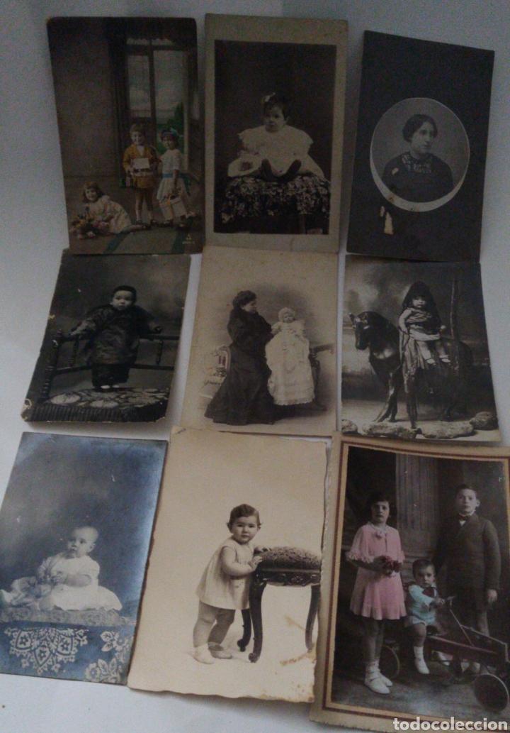 9 TARJETAS POSTALES ANTIGUAS LA MAYORÍA DE NIÑOS Y NIÑAS. (Postales - España - Comunidad Valenciana Antigua (hasta 1939))