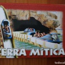 Postales: TIRA DE POSTALES. TERRA MÍTICA. ALICANTE.. Lote 241278405