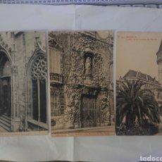 Cartes Postales: LOTE 3 POSTALES VALENCIA. Lote 242380005