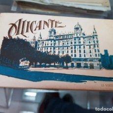 Postales: 15 VISTAS DE ALICANTE TACO BLOC POSTALES ANTIGUAS FOTOGRAFO L. ROISIN ALICANTE. Lote 243149130