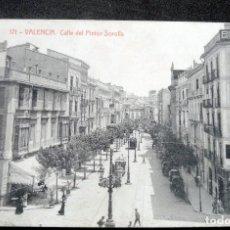 Postales: POSTAL - VALENCIA - CALLE DEL PINTOR SOROLLA - FOTOTIPIA THOMAS Nº 171 - ESCRITA. Lote 243243320
