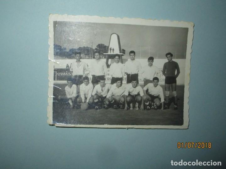 ANTIGUO EQUIPO JOYERÍA GOMIS DE FÚTBOL ALICANTE (Postales - España - Comunidad Valenciana Moderna (desde 1940))