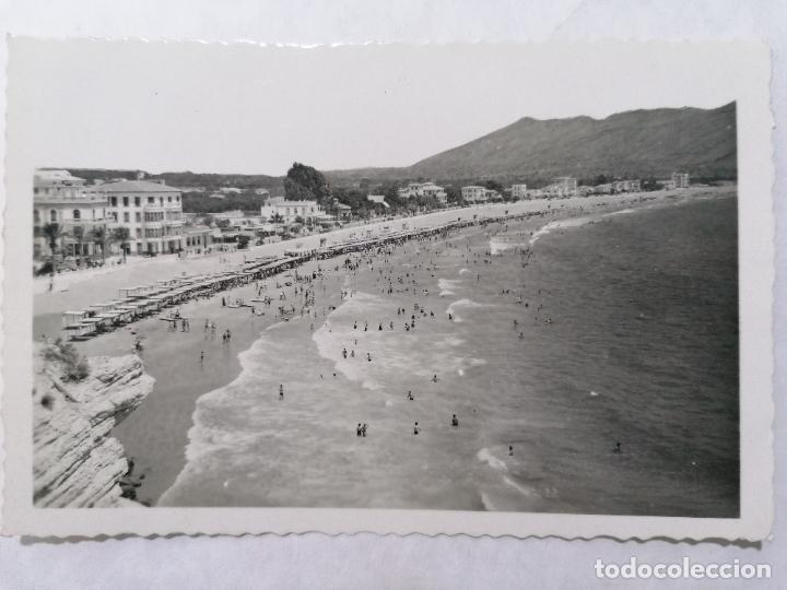 POSTAL BENIDORM, PLAYA DE LEVANTE, AÑOS 60 (Postales - España - Comunidad Valenciana Moderna (desde 1940))