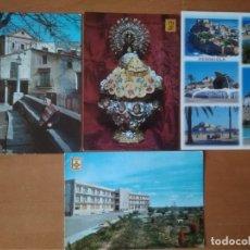 Postales: LOTE 4 POSTALES DE CASTELLÓN. Lote 244677830