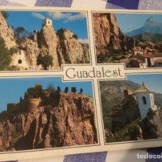 Postales: POSTAL. CASTEL DE GUADALEST, ALICANTE. SIN CIRCULAR.. Lote 244769425