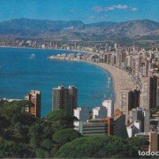 Postales: BENIDORM (ALICANTE) VISTA GENERAL – ESCUDO DE ORO Nº252 - CIRCULADA. Lote 244775925