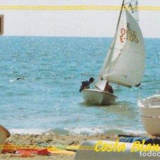 Postales: CALPE, COSTA BLANCA – ESCUDO DE ORO Nº70 - CIRCULADA. Lote 244776215