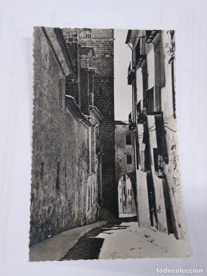 15 SEGORBE. CUESTA DE LA CATEDRAL. CLICHÉ LÓPEZ EGEA. CIRCULADA. (Postales - España - Comunidad Valenciana Antigua (hasta 1939))