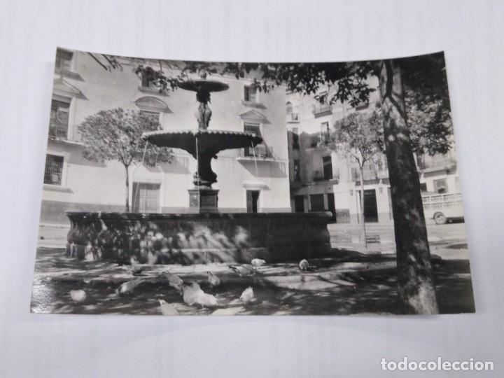 5 ONDA FUENTE DE LA PLAZA DEL CAUDILLO. SIN CIRCULAR. (Postales - España - Comunidad Valenciana Antigua (hasta 1939))