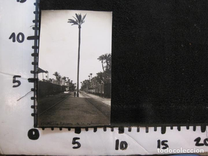 Postales: ELCHE-LA PALMERA DE LA ESTACION DEL FERROCARRIL-FOTOGRAFICA-ROISIN-POSTAL ANTIGUA-VER FOTOS-(77.841) - Foto 5 - 245101650