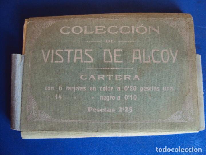 (PS-64599)CARTERA DE 20 POSTALES DE VISTAS DE ALCOY-PAPELERIA LA ANTIGUA (Postales - España - Comunidad Valenciana Antigua (hasta 1939))