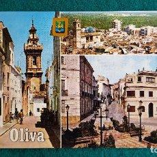 Postales: POSTAL DE OLIVA - DIVERSOS ASPECTOS - VALENCIA - RW. Lote 245999025