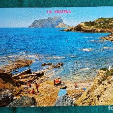 Postales: POSTAL DE BENISA - LA FUSTERA Y EL PEÑON DE IFACH- ALICANTE - RW. Lote 245999505