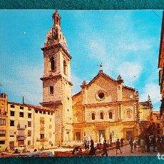 Postales: POSTAL DE JATIVA - COLEGIATA BASILICA - VALENCIA - RW. Lote 246000755