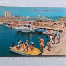 Postales: PLAYA PUEBLA DE FARNALS. Lote 246277790
