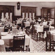 Postales: VALENCIA, HOTEL RESTAURANT LA MARINA. POSTAL FOTOGRAFICA SIN CIRCULAR. Lote 246321615