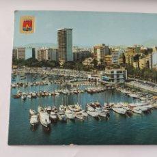 Postales: POSTAL 254 ALICANTE VISTA AÉREA. PUERTO DE YATES. Lote 246861615